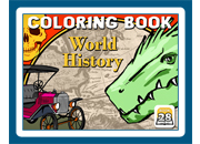 Coloring Book 28: World History