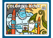 Coloring Book 29: Mythical Creatures