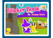 Sticker Book 2: Fantasy World